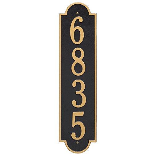 Richmond Vertical Address Plaque 6Wx25L 1 Line
