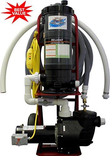 Tomcat Top Gun Maverick Portable Pool Vacuum System