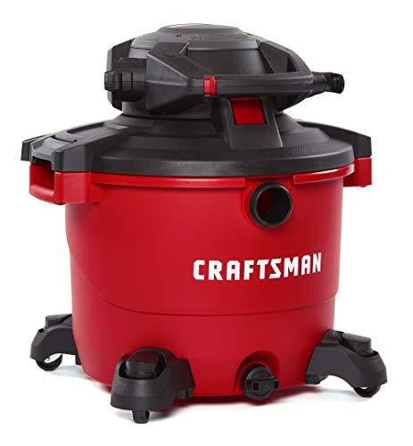 CRAFTSMAN CMXEVBE17607 16 gallon 65 Peak Hp WetDry Vac with Detachable Leaf Blower Heavy-Duty Shop Vacuum with Attachments