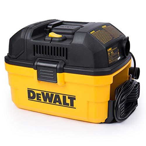 DeWALT Portable 4 gallon WetDry Vaccum Yellow