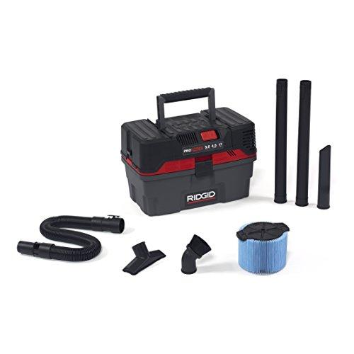 RIDGID 50318 4500RV ProPack Wet Dry Vac 45-Gallon Portable Wet Dry Vacuum with Toolbox Design 50 Peak HP Motor Expandable Pro Hose Blower Port