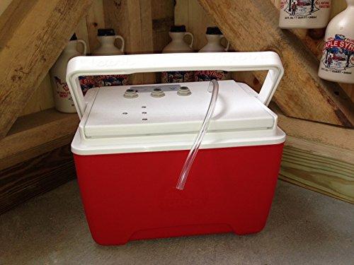 Lunchbox Vacuum Releaser - Maple Sap Vacuum Suction Pump Compressed Air Powered