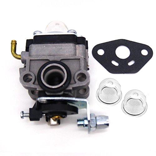 Fitbest Carburetor for Honda GX31 GX22 FG100 Little Wonder Mantis Tiller Carb 16100-ZM5-803 with Primer Bulb  Gasket