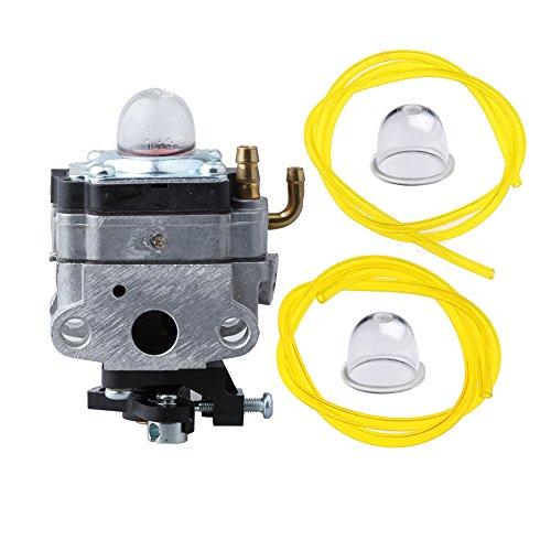 Hipa 753-1225 Carburetor With Primer Bulb Fuel Line For Mtd Troy-bilt Ryobi Yard Man Bolens Trimmer Tiller 753