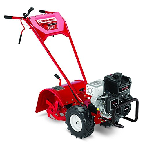 Troy-bilt Pony Es 250cc Gas Powered Electric Start Counter Rotating Rear Tine Tiller