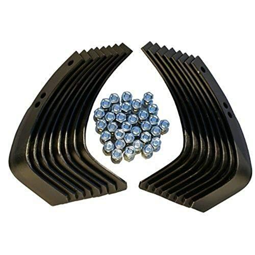 PROVEN PART Complete Rebuild Kit Rear Tine Tiller Tines Replaces Ariens 129359 Troy Bilt 1901118 10802
