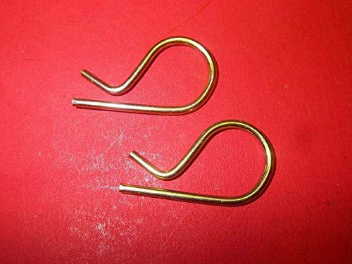 clips 2 pcs Tiller Tine Pin 60561213350 for Mantis Echo