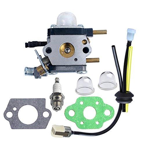 Hipa C1u-k54a Carburetor With Gasket Repower Kit Spark Plug For Echo Mantis Tiller 7222 7222e 7222m 7225 7230
