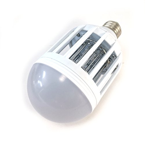 Dual LED Mosquito and Bug Zapper Light Bulb- Fits 110V Fixtures