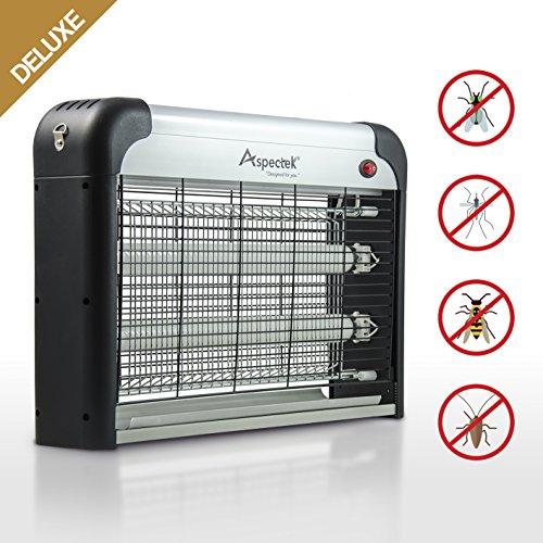 Deluxe Model-Aspectek 20W Electronic Bug Zapper Insect Killer for Residential Commercial