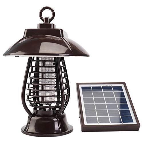 WANGYONGQI Solar Mosquito Killer insecticidal lamp Mosquito Recharge Garden Outdoor Electronic Mosquito Repellent Mosquito lamp