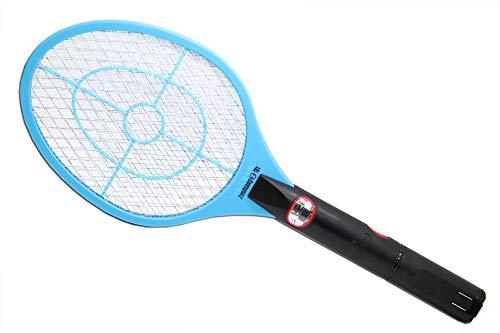 Linbos Lightweight Fly Swatter Indoor Outdoor Swipe Zap Electric Racket Swapper Battery Powered Pest Control Swap