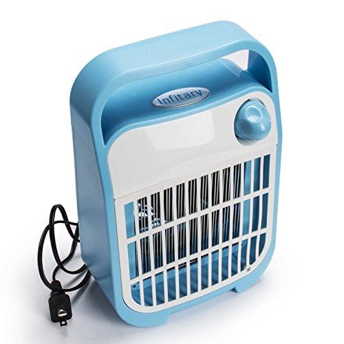Infitary&reg Photactalytic Electronic Indoor Mosquito Killer By Power 4 Watt Uv Bulbs Led Lamp Ultra-quiet Blue