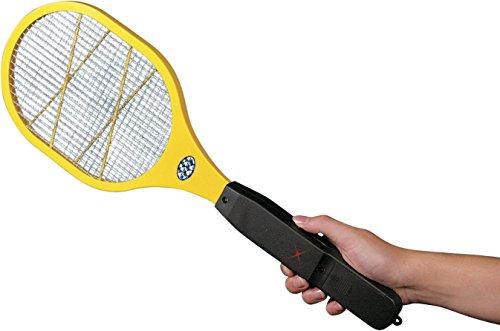 Miles Kimball Yellow Electronic Bug Zapper Racket