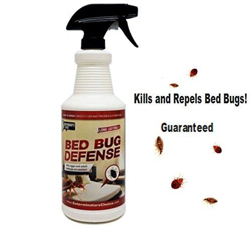 Bed Bug Defense- By Exterminators Choice- BedBug Killer and Repellent32oz All Natural Effective Spray- Home Insect Repellent  Spray BedBugsBug Repellent  All Natural Repellent