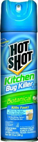 Hot Shot 4470 14-Ounce Kitchen Bug Killer Aerosol Case Pack of 1