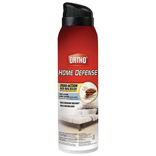 Ortho Home Defense Dual-action Bed Bug Killer Aerosol Spray 18-ounce kills Bed Bugs Fleas Dust Mitesamp Stink