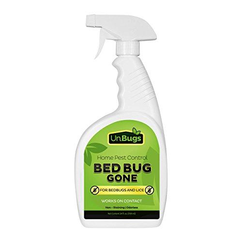 UnBugs Bed Bug Spray Killer Pest Control Treatment