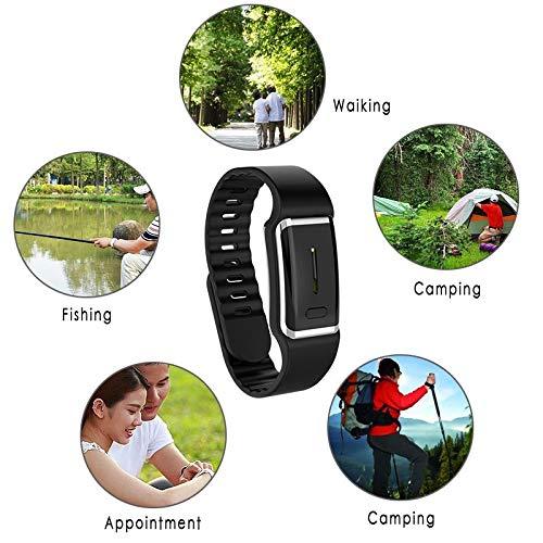 kangle Ultrasonic Mosquito Repellent BraceletsElectronic Bionic Wave Mosquito Repellent Watch for Lovers Men Women Garden Outdoor Camping Fishing Climbing