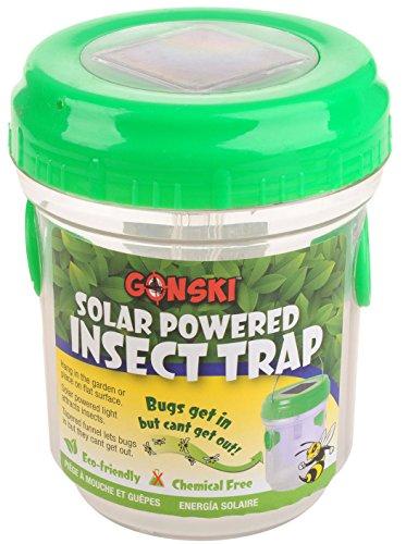 Mosquito Bug Insect Trap Zapper Killer Solar Led Light Lamp Lantern