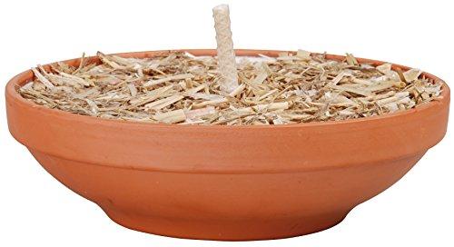 Esschert Design FF171 Fire Bowl in Terracotta Pot Large