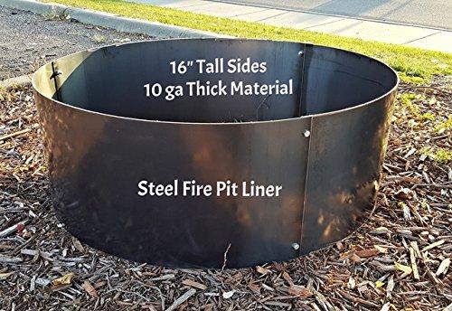16&quot Deep X 45&quot Diameter Fire Pit Ring Liner Insert