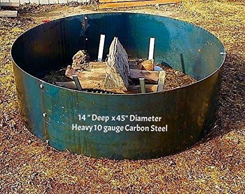 Fire Pit Liner-campfire Ring- 45&quot Diameter X 14&quot Deep