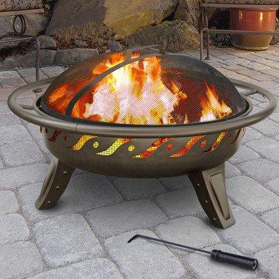 Landmann Patio Lights Vsb Firewave Wood Fire Pit - Brown