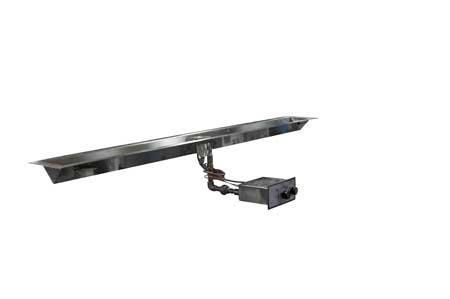 FPPK60-TRGH 60in Linear Trough Manual SparkFlame Sensing Firepit Insert