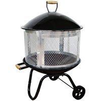 HOMEBASIX KY181 Outdoor Steel Firepit