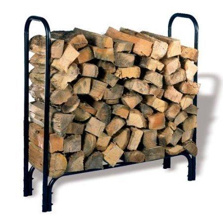 Woodeze Home Indoor Outdoor Firewood Storage Organizer 45 HY-C Tubular Log Rack - SLRM by Woodeze