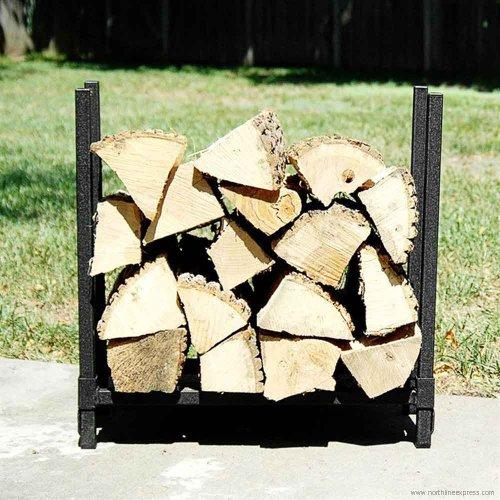 Woodhaven 24wrc 2 Foot Fireside Firewood Storage Rack