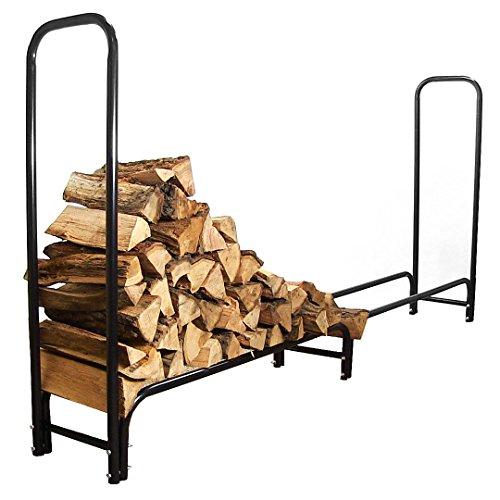 Sunnydaze 8-Foot Firewood Log Rack Log Rack ONLY