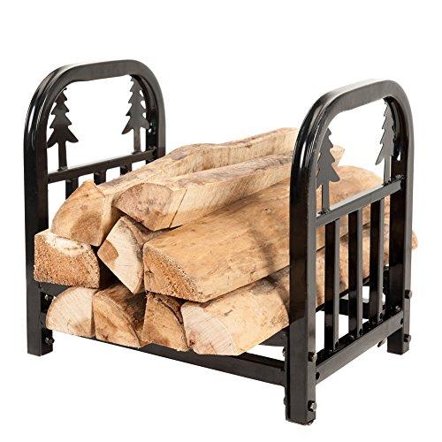 Hio Small Decorative Indooroutdoor Firewood Racks 18 Inch Fireside Log Rack