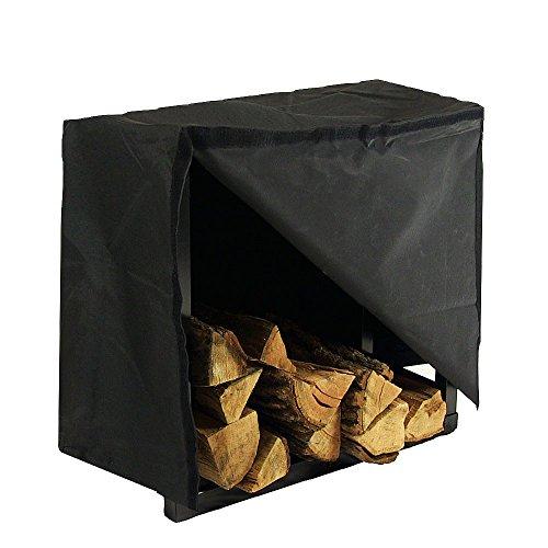 Sunnydaze 2-foot Indooroutdoor Firewood Log Rack And Cover Combo