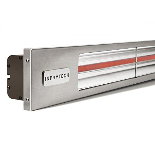 Infratech Slimline Series 29 12-inch 1600w Single Element Electric Infrared Patio Heater - 120v - Bronze - Sl1612b