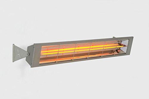 Alfresco Heaters Stainless Steel 16kW Single Element Electric Patio Heater 70cm  275 w Gold Element