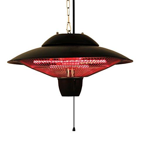Ener-g Indooroutdoor Ceiling Electric Patio Heater Black