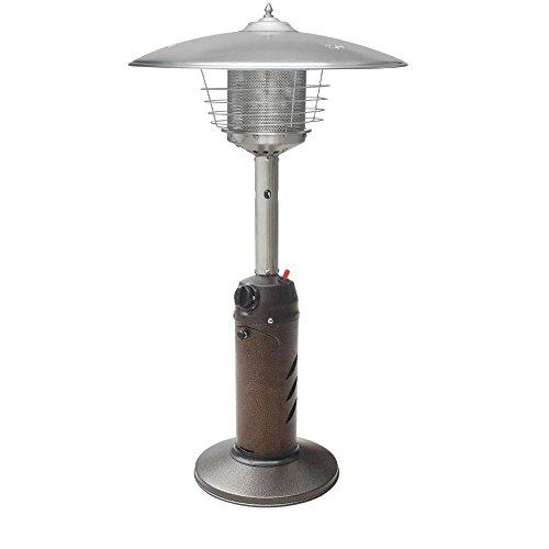 Gardensun HPS-C-PC 11000 BTU Bronze Tabletop Propane Gas Patio Heater