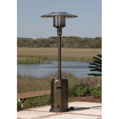 Commercial Patio Heater in Hammer Tone Bronze