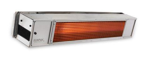 Sunpak S 34B TSR up to 34000 BTU Hanging Patio Heater - Black - Propane Gas LP - No Fascia Kit - Plus Free Sunpak eGuide