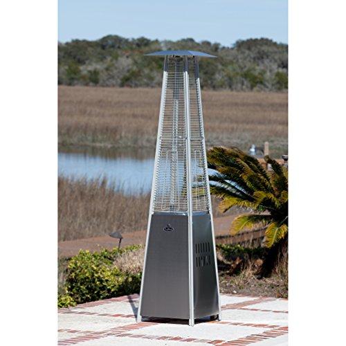 Fire Sense Pyramid Flame Propane Patio Heater