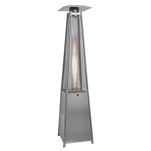 Goplus&reg New Standing Outdoor Patio Heater Deck Pyramid Natural Gas Propane Lp