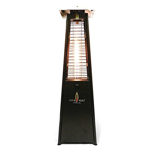 Mini Lava Tabletop Patio Heater Finish Heritage Bronze Type Propane
