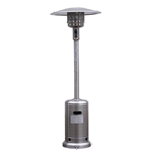 Winixson 7 Garden Outdoor Patio Heater Propane Standing Stainless Steel waccessories New