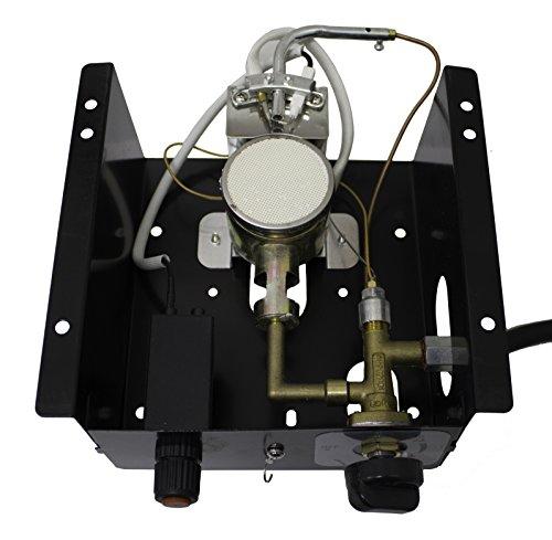 AZ Patio Heaters SGT-BURNER 6BOLT 6 Bolt Hole Pattern Burner for Square Glass Tube Patio Heater