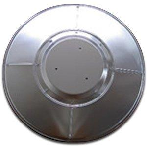 Tall Patio Heater Reflector Shield