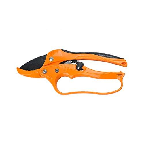 Anianiau Professional Garden Scissors SK-5 Steel Bypass Pruning Shears(Orange)