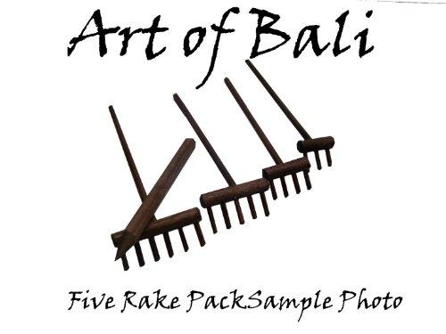Art Of Bali Zen Garden Rake - Art Of Bali Zen Garden Rake Five Pack