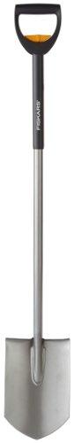 Fiskars 3130 Steel Extendable D-Handle Ergo Garden Spade Shovel 41-Inch by 49-Inch